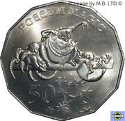 50 Cents - Elizabeth II (Possum Magic) -  revers