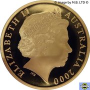 5 Dollar - Elizabeth II (4th portrait; 70th Anniversary of Phar Lap's 1930 Melbourne Cup Win) -  avers