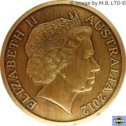 "5 Dollars - Elizabeth II (""Town Halls"" Brisbane Town Hall) -  avers"