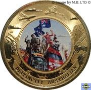 5 Dollars - Elizabeth II (Distinctly Australian) -  revers
