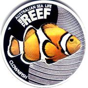 50 Cents - Elizabeth II (Clownfish) -  revers