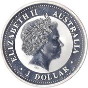 1 dollar Année du cheval (série I) -  avers