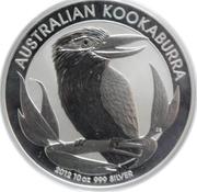 10 dollars Elizabeth II (4e effigie, kookaburra) -  revers