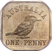 1 Penny - George V (Kookaburra Pattern - Type 12 (Renniks 11)) -  revers