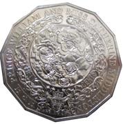 50 Cents - Elizabeth II (Royal Engagement) -  revers