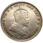 1 shilling Edouard VII -  avers