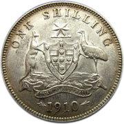 1 shilling Edouard VII -  revers