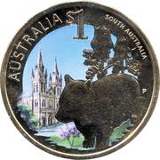 1 dollar Australie Méridionale -  revers
