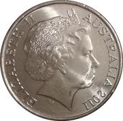 20 cents - Elizabeth II (Année des volontaires) -  avers