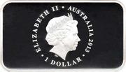 1 Dollar - Elizabeth II (First Banknote) -  avers