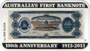 1 Dollar - Elizabeth II (First Banknote) -  revers