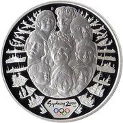 5 dollars - Elizabeth II 4th portrait; A Sea Change II) -  revers