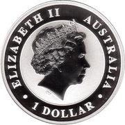 1 Dollar - Elizabeth II (Australian Kookaburra) -  avers