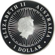 1 Dollar - Elizabeth II (4e portrait; Koala) -  avers