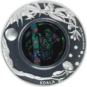 1 Dollar - Elizabeth II (4e portrait; Koala) -  revers