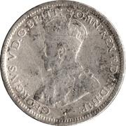 6 Pence - George V -  avers