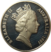 20 cents Elizabeth II (3e effigie) -  avers