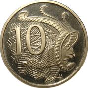 10 cents Elizabeth II (3e effigie) -  revers