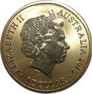 1 Dollar - Elizabeth II (4th portrait; Alphabet Collection - Letter Z) – avers