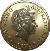 1 Dollar - Elizabeth II (4th portrait; Alphabet Collection - Letter Q) -  avers