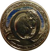1 Dollar - Elizabeth II (4th portrait; Alphabet Collection - Letter Q) -  revers