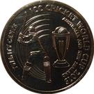 20 Cents - Elizabeth II (ICC Cricket World Cup) – revers