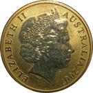 1 Dollar - Elizabeth II (4th portrait; Longfin Bannerfish) – avers