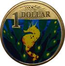 1 Dollar - Elizabeth II (4th portrait; Bigbelly Seahorse) – revers