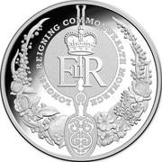 5 Dollars - Elizabeth II (Longest-Reigning Commonwealth Monarch) 2015 -  revers