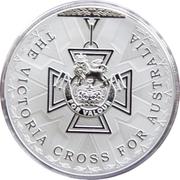 5 Dollars - Elizabeth II (Victoria Cross For Australia) -  avers