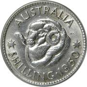 1 shilling George VI (sans