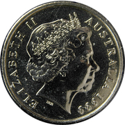 10 cents Elizabeth II (4e effigie) -  avers