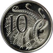 10 cents Elizabeth II (4e effigie) -  revers