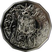 50 Cents - Elizabeth II (4ème effigie) -  revers