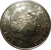 25 Cents - Elizabeth II (Peace) -  avers
