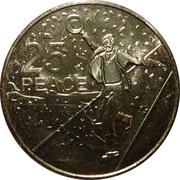 25 Cents - Elizabeth II (Peace) -  revers