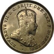 3 Pence - Edward VII – avers