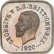 ½ Penny - George V (Kookaburra Pattern - Type 1) – avers