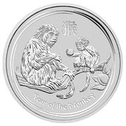 50 cents Année du singe -  revers