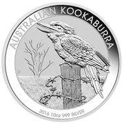 10 dollars - Elizabeth II (Kookaburra Silver Bullion) -  revers