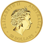50 Dollars - Elizabeth II (4ème portrait;