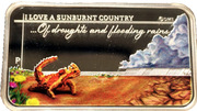1 dollar - Sunburnt country -  revers