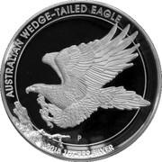 1 Dollar - Elizabeth II (4th Portrait; Australian Wedge-Tailed Eagle) -  revers
