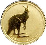 2 Dollars - Elizabeth II (4th Portrait; Mini Kangaroo) -  revers