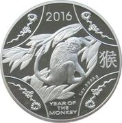 1 dollar Année du singe -  revers