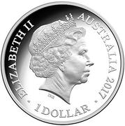 1 Dollar - Elizabeth II (Sydney New Years Eve) – avers