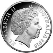 1 Dollar - Elizabeth II (Kangaroo) -  avers