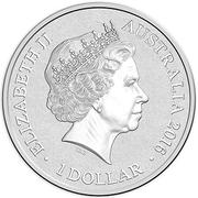 1 Dollar - Elizabeth II (4th portrait; Letter B) -  avers