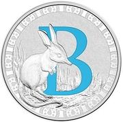 1 Dollar - Elizabeth II (4th portrait; Letter B) -  revers