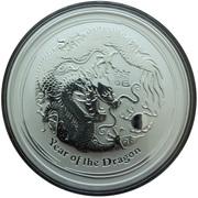 2 dollars Année du dragon (série II) -  avers